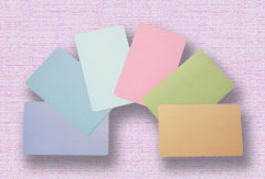 Blank Color Cards