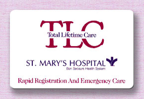 Rapid Registration and Emergency Care Card
